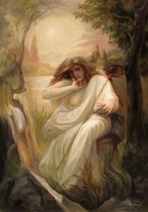 Hidden images in paintings of Oleg Shuplyak