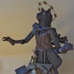 Paper sculpture by American artist Patty Grazini