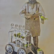John Herbert (1915) Arrested for peddling without a license; dyed sparrows yellow, and sold them as canaries