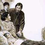 Rasputin as a healer for Alexis, was able to win the trust of