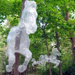 Scotch packaging tape sculpture