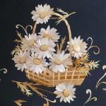 Straw art by Russian artist Lydiya Retivskaya