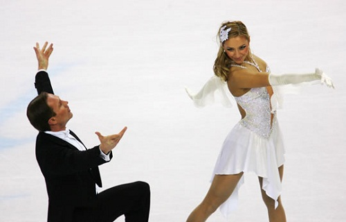 Tatyana Navka and Roman Kostomarov