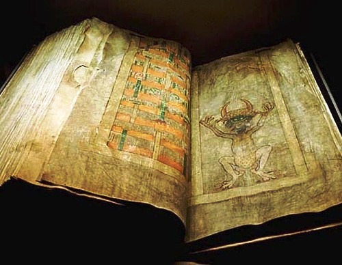 The Codex Gigas or Devil's Bible