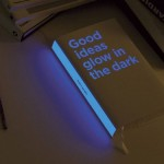The book that glows in the dark