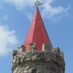 Fabulous architecture - the fairy-tale stone castle in Akimovka, Zaporozhye region, Ukraine