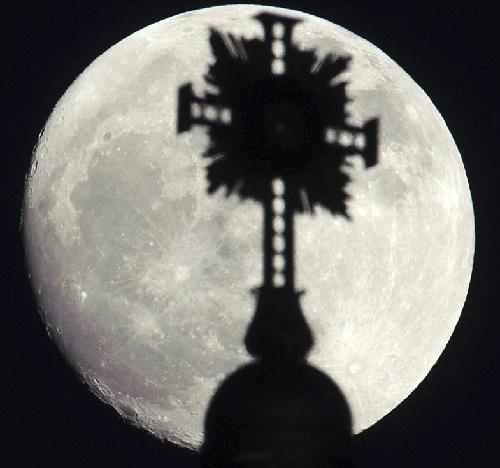 brightest full moon
