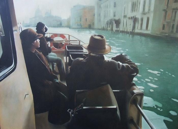Trip in a boat