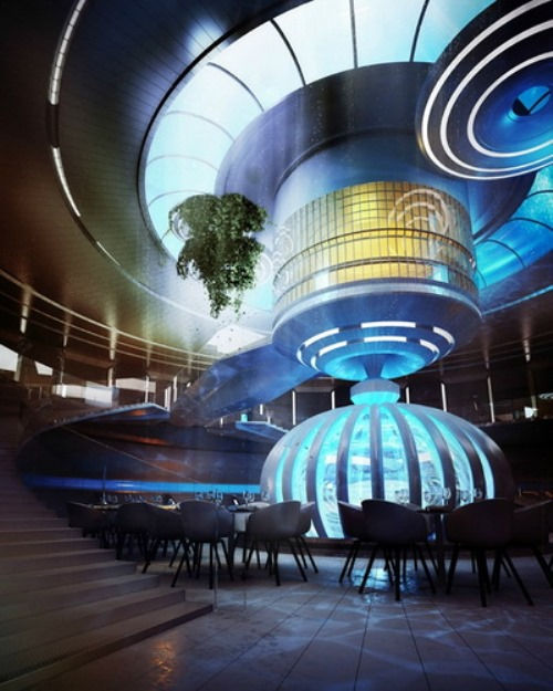 The amazing Underwater Hotel, Dubai