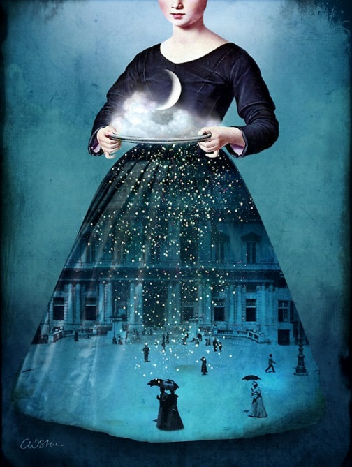Catrin Welz-Stein surreal art