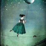 Surreal art by German artist Catrin Welz-Stein