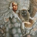 Russian Realist painter Sergey Kustarev