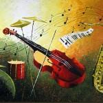 Painting by Russian artist Stanislav Sidorov