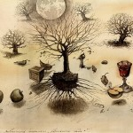 Surreal painting by Russian artist Yuri Laptev