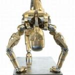 Dinamic bronze sculpture Mark Ho's iron man