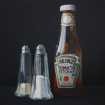 Hyperrealistic paintings by British artist Leigh Mulley