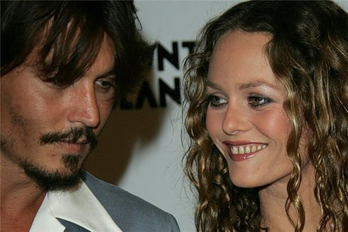 Johnny Depp and Vanessa Paradis