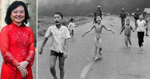 Phan Thi Kim Phuc a girl from iconic photo