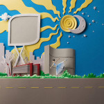 paper art by Brazilian artist Carlos Meira