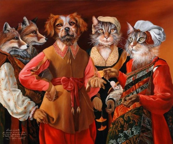 Animal society by Sylvia Karle Marquet