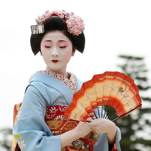 The symbol of Kyoto - Maiko, future Geisha