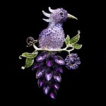Beautiful Swarovski brooches