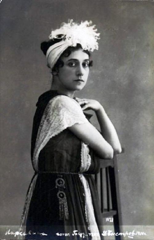 Tamara Karsavina 1910-1914