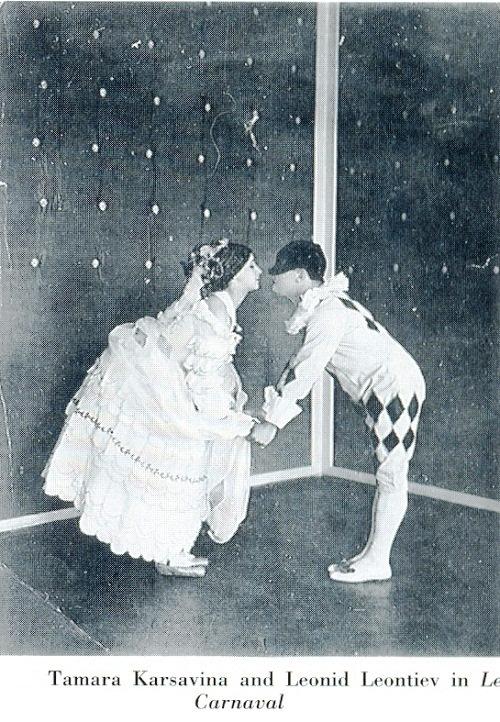 Tamara Karsavina, Leonid Leontiev