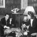Valentina Sanina and her husband George Shlee