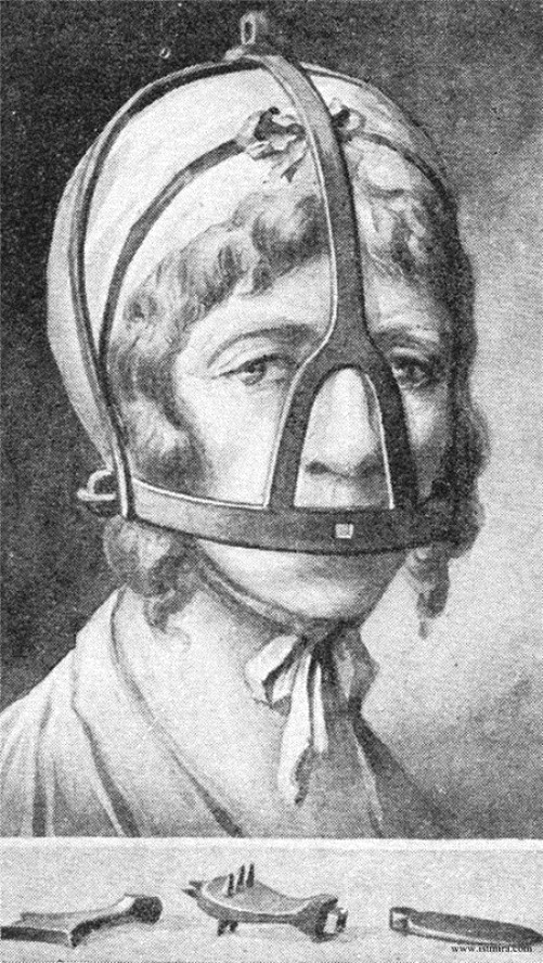 Scolds bridle Medieval instrument against women chatter