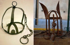 Scold's bridle - a Medieval instrument against women chatter