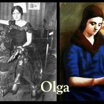 Sad muse of Picasso, Olga Khokhlova