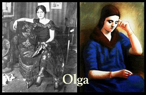 Sad muse of Picasso, Olga Khokhlova