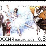 Postage stamp Russian Seasons