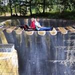 3d street art by Polish artist Gregor Wosik