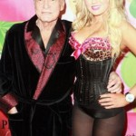 Hugh Hefner with Anna Sophia Berglund. He was born in 1926. She was born in 1986