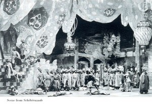 Scene from Scheherazade