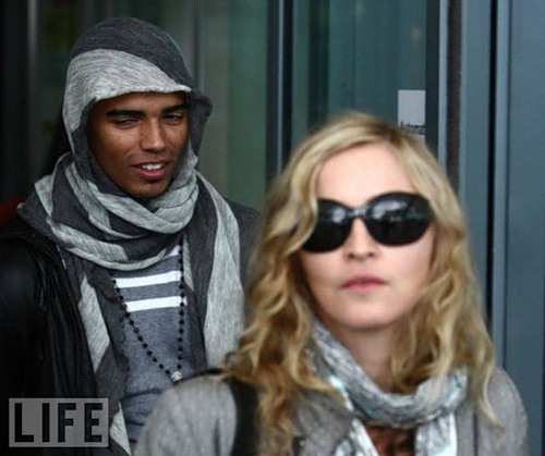 Brahim Zaibat and Madonna