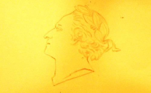 the portrait of Louis XV