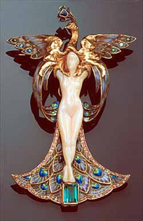 Art Nouveau jewellery by Belgian jeweler Philippe Wolfers