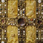 Book of the Gospels, the images symbolize St Matthew, Mark, Luke and John