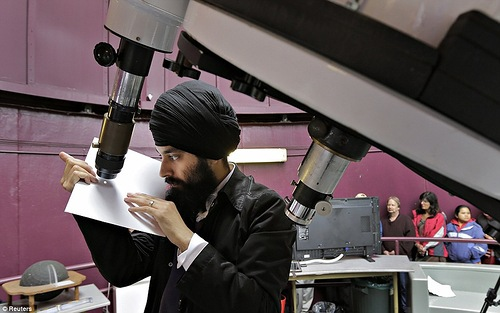 Astronomer Raminder Samra