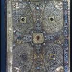 Back book cover of the Lindau Gospels, ca. 800