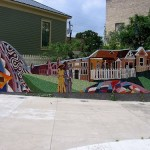 Beautiful murals around Austin, Texas