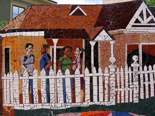 Beautiful murals around Austin, Texas