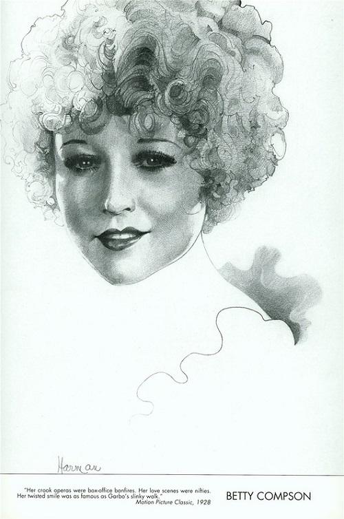 Betty Compson. Bob Harman's Hollywood Panorama
