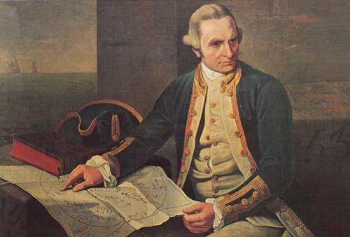 Even Captain James Cook got involved, taking the Endeavor into the uncharted emptiness of the South Pacific