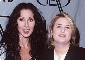 Chaz Salvatore Bono and Cher