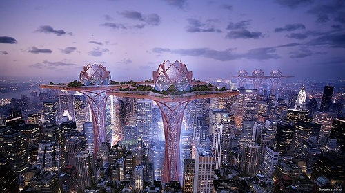 "Stunning architecture ""City in the sky"""