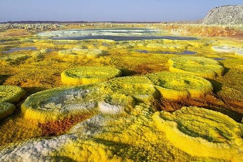 Alien landscape on Earth